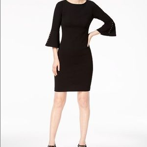 Calvin Klein Pearl Sleeve Dress